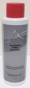 JK Hair Regrowth Formula Low alcohol