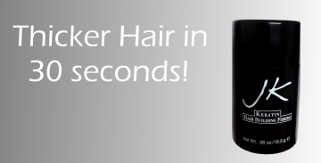Thicker hair in 30 seconds