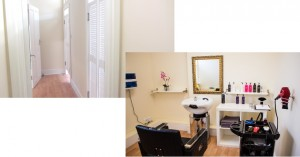 Hair replacement treatment rooms