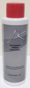 JK Hair Regrowth Formula Low alcohol
