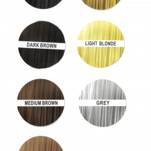 JK Hair Building Fibers Colour Guide