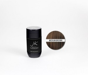 JK Keratin Hair Building Fiber – Medium Brown