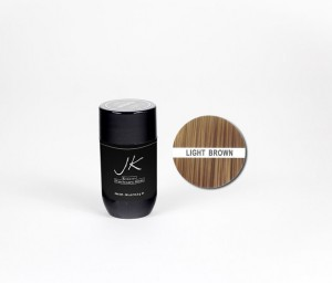 JK Keratin Hair Building Fibers Light Brown