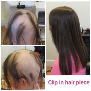 Women's Clip in hair piece Dublin